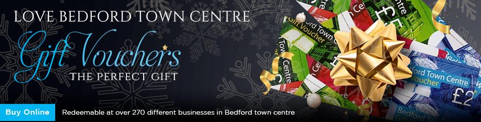 Buy Love Bedford Town Centre Gift Vouchers