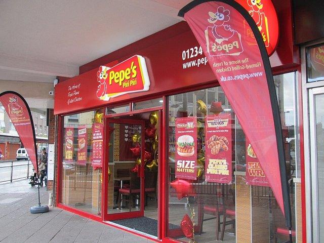 Love Bedford Businesses Pepes Piri Piri